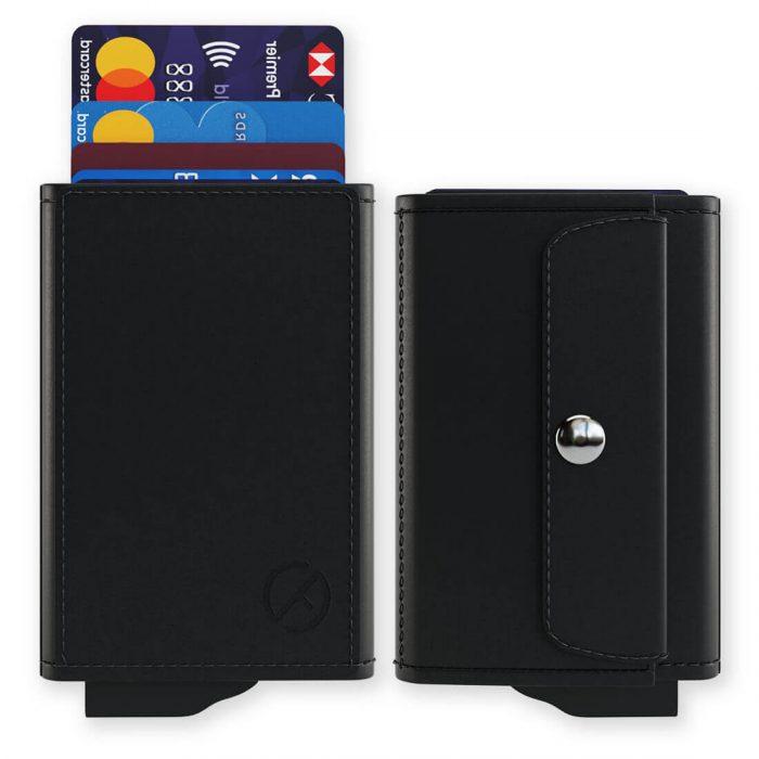 RFID card holder coin pocket